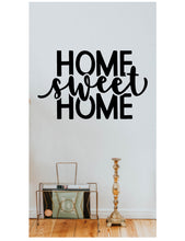 Load image into Gallery viewer, Home sweet home wall decal