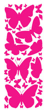 Load image into Gallery viewer, HOT PINK BUTTERFLY WALL DECALS