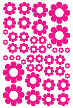 Load image into Gallery viewer, HOT PINK DAISY STICKERS