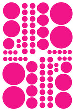 Load image into Gallery viewer, HOT PINK POLKA DOT DECALS