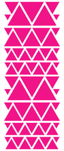 Load image into Gallery viewer, HOT PINK TRIANGLE STICKERS