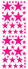 Load image into Gallery viewer, HOT PINK STAR DECALS