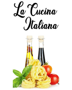 LA CUCINA ITALIANA WALL DECAL
