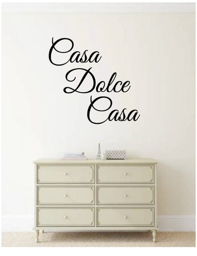 Italian phrase wall decal from whimsidecals.com