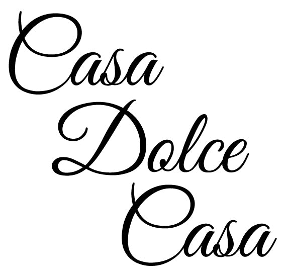 Italian word wall decal from whimsidecals.com