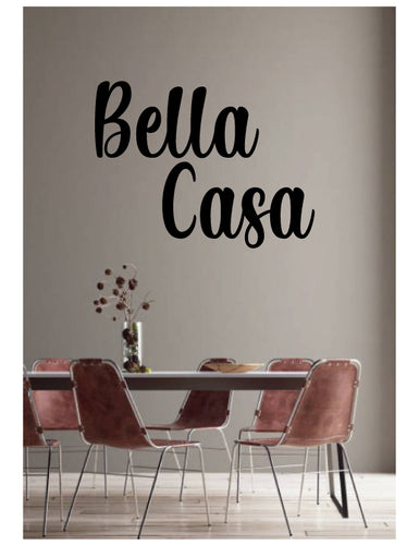 Italian word wall sticker from whimsidecals.com