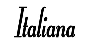 ITALIANA WORD WALL DECAL IN BLACK