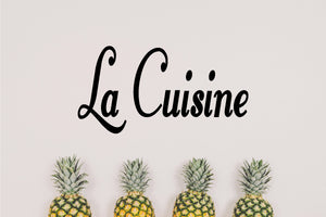 LA CUISINE FRENCH WORD WALL STICKER THE KITCHEN