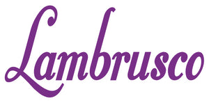 LAMBRUSCO WALL DECAL IN PURPLE