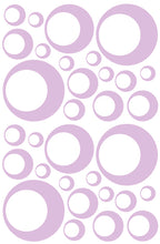 Load image into Gallery viewer, LAVENDER BUBBLE STICKERS