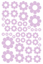 Load image into Gallery viewer, LAVENDER DAISY STICKERS