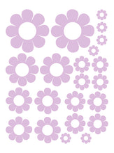 Load image into Gallery viewer, LAVENDER DAISY WALL DECALS