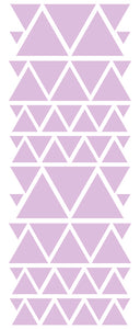 LAVENDER TRIANGLE STICKERS