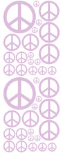 Load image into Gallery viewer, LAVENDER PEACE SIGN DECAL