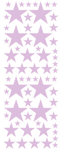 LAVENDER STAR DECALS