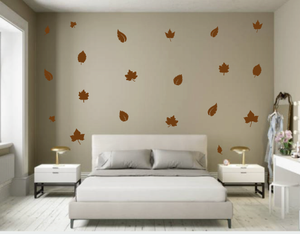 LEAVES LEAF WALL DECALS