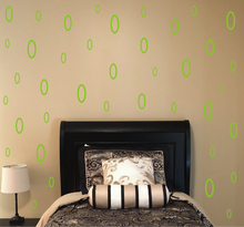 Load image into Gallery viewer, LIME GREEN OVAL DECALS