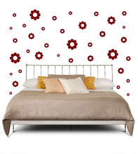 Load image into Gallery viewer, MAROON DAISY WALL DECOR