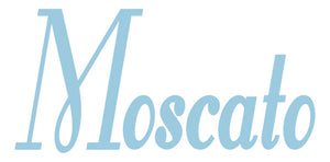 MOSCATO WALL DECAL POWDER BLUE