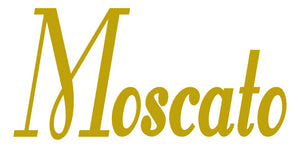 MOSCATO WALL DECAL GOLD