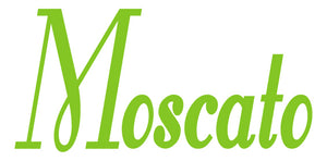 MOSCATO WALL DECAL LIME GREEN