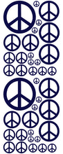 Load image into Gallery viewer, NAVY BLUE PEACE SIGN DECAL
