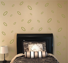 Load image into Gallery viewer, OLIVE GREEN OVAL WALL DECOR