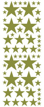 Load image into Gallery viewer, OLIVE GREEN STAR DECALS