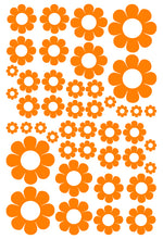 Load image into Gallery viewer, ORANGE DAISY STICKERS