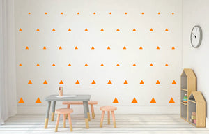 ORANGE TRIANGLE DECALS