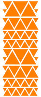 ORANGE TRIANGLE STICKERS