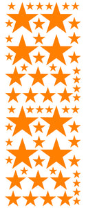 ORANGE STAR DECALS