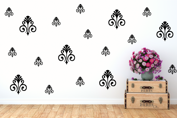 ORNAMENTAL WALL STICKERS