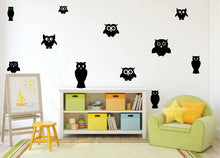 Load image into Gallery viewer, OWL WALL STICKERS