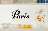 PARIS WALL STICKER