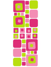 Load image into Gallery viewer, PINK AND GREEN WALL DECALS FROM WHIMSIDECALS.COM