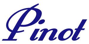 PINOT WALL DECAL ROYAL BLUE