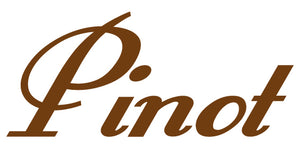 PINOT WALL DECAL BROWN