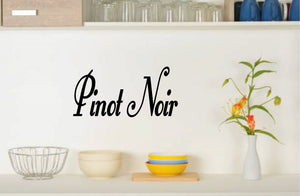 PINOT NOIR WALL DECAL