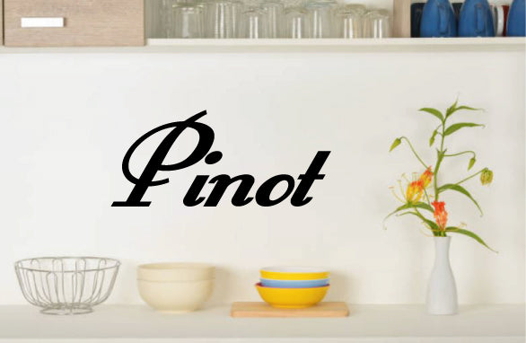 PINOT WALL DECAL