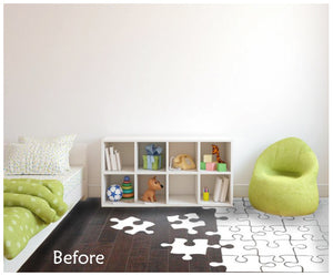 POLKA DOT WALL DECALS NOT ON WALL