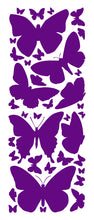 Load image into Gallery viewer, PURPLE BUTTERFLY WALL DECALS