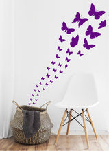Load image into Gallery viewer, PURPLE BUTTERFLY WALL STICKERS