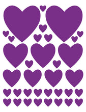 Load image into Gallery viewer, PURPLE HEART WALL DECALS