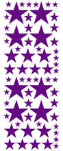 Load image into Gallery viewer, PURPLE STAR DECALS