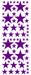 PURPLE STAR DECALS