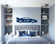 Load image into Gallery viewer, RACE CAR WALL STICKER