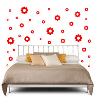 Load image into Gallery viewer, RED DAISY WALL DECOR