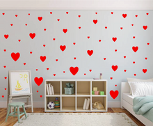 Load image into Gallery viewer, RED HEART STICKERS