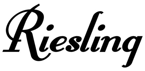 RIESLING WALL DECAL BLACK